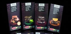 C-op Fair trade Chocolate product range