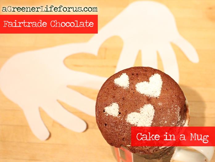 Fairtrade Chocolate - Cake in a Mug
