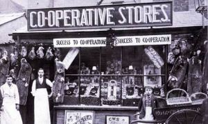 An old Co-operative store