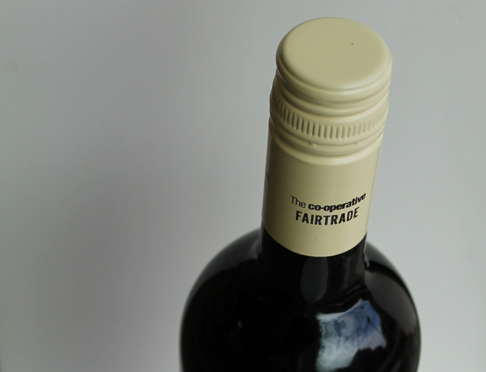 Fairtrade Wine Bottle