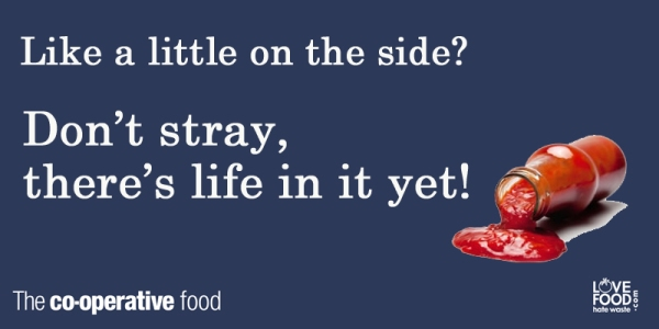 Like a little sauce on the side? Don't stray, there's life in it yet