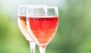 Wine in a wine glass