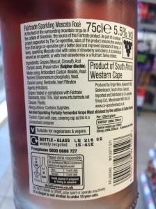 Vegan Wine Label