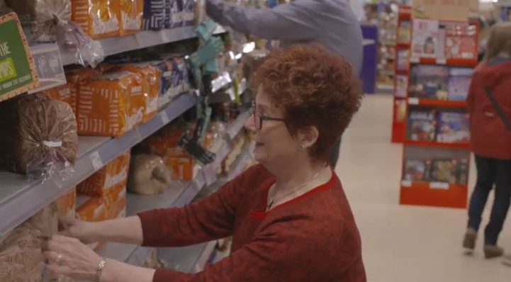 Hazel Blears helps out at The Co-operative Food store in Oldham