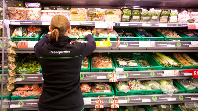 Store Colleague in Fruit and Veg Aisle