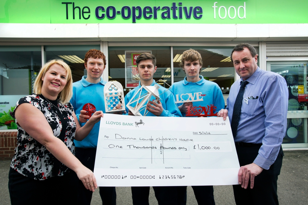 Co-op donates to local children's hospice