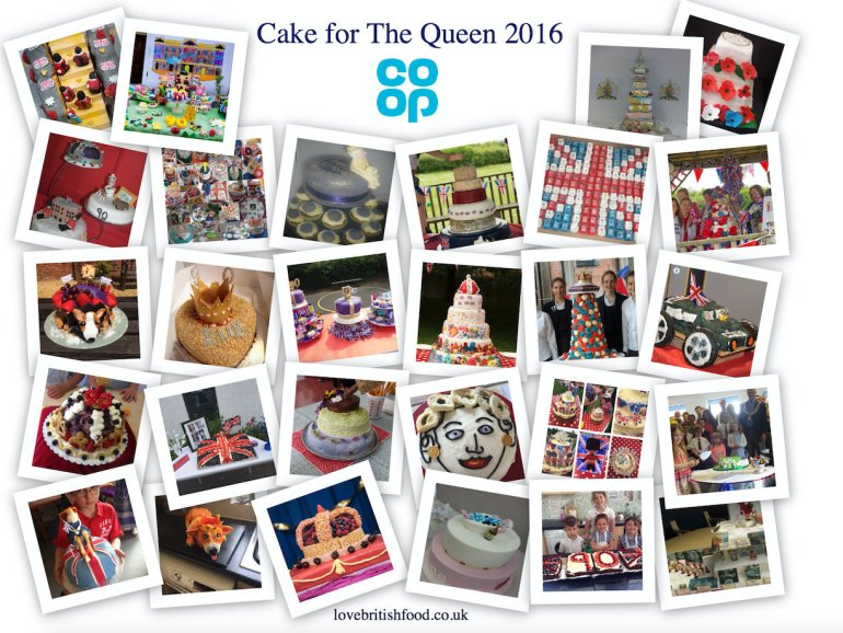 Cake for Queen Collage Co-op