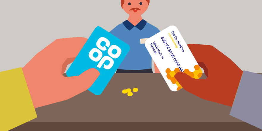 Using different co-op membership cards in different Co-op food stores