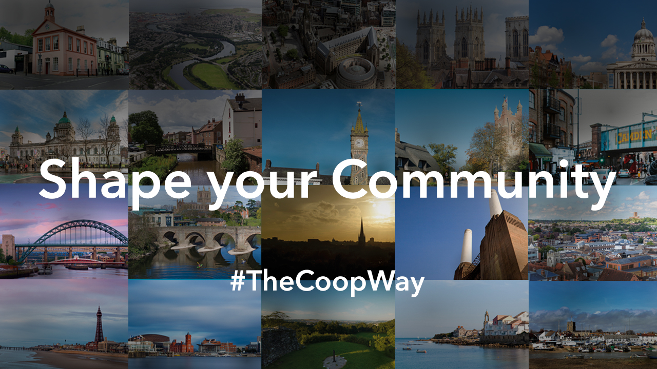 Shaping communities with Co-op members