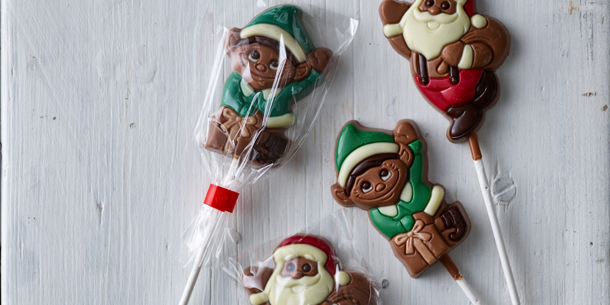 All our own brand Christmas chocolate is 100% Fairtrade