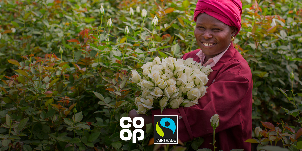 All Co-op African roses are now Fairtrade #TheCoopWay