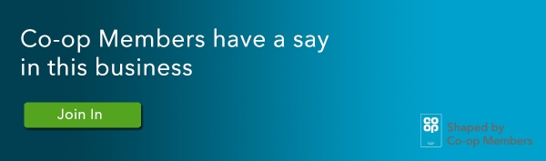 Co-op Members have a say - click here to view join in opportunities