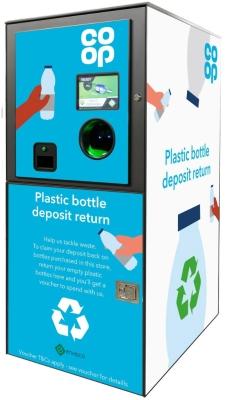 Deposit-and-return-plastic-bottle-machine