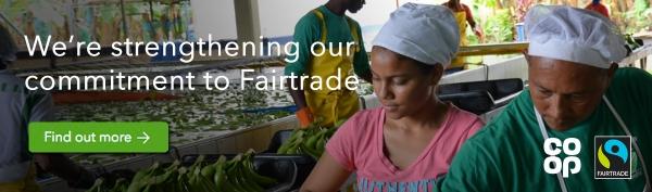 Digital Engagement - Fairtrade #TheCoopWay Q1 - Blog post - bananas Banner