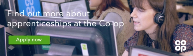 Apprenticeships at the Co-op