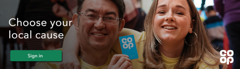 Co-op Local Community Fund - Choose your cause