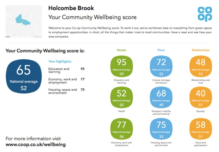 Well being index example