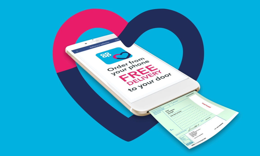 Co-op Health's digital repeat prescription app
