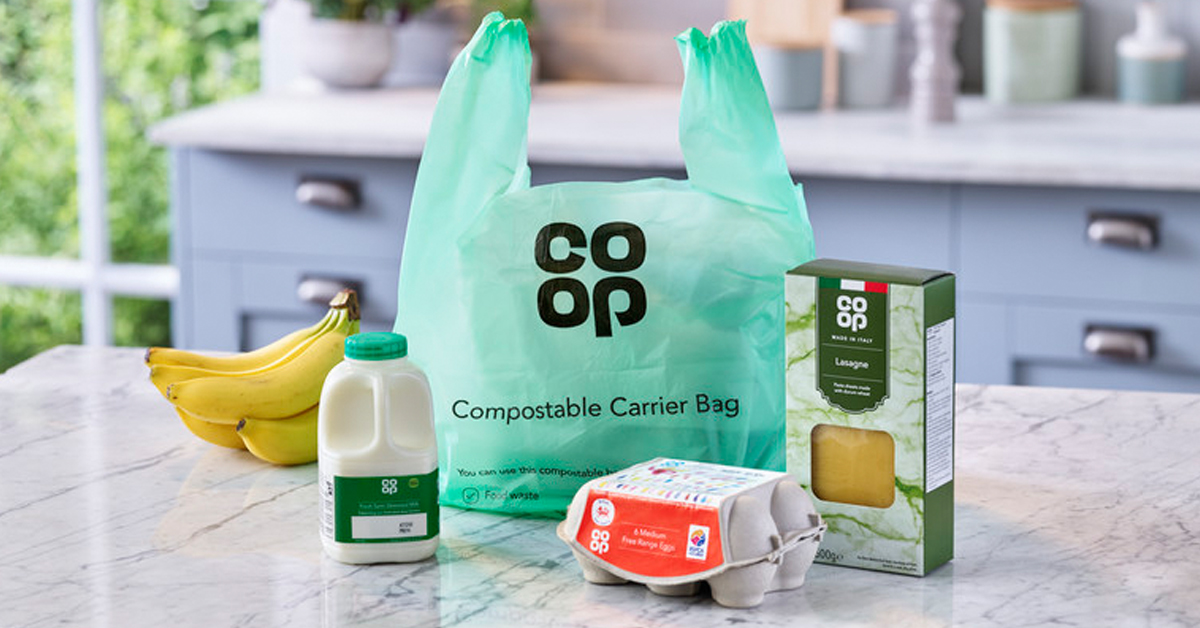 Want our compostable carrier bags in your Co‑op? Here's how you can help