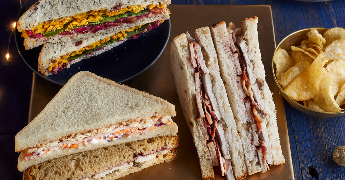 Our Christmas sandwiches are here! Find out how buying one helps to support mental health charities