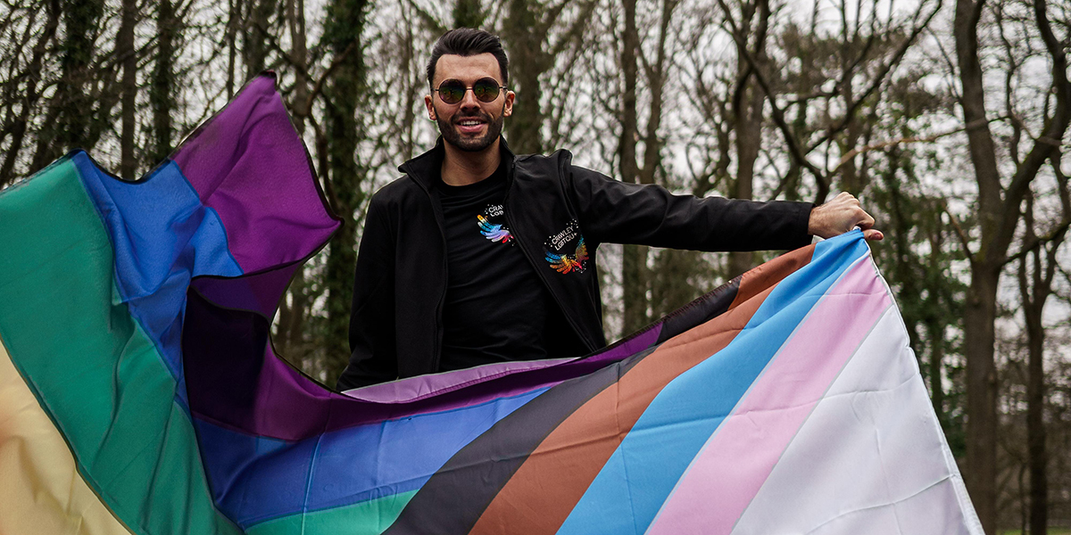 This cause is paving the way for LGBTQ+ communities in Crawley